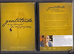 GRATITUDE; JOEL OSTEEN; CD & DVD SERIES (BEING THANKFUL FOR THE GIFT OF TODAY)