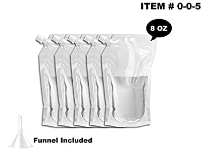 Cruise Ship Flask Kit -,WYNK Reusable & Concealable Liquor Bags - Sneak or Smuggle Booze & Alcohol