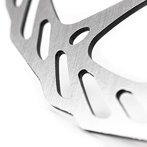Fahrrad Bremsscheibe 203mm 6-Loch kompatibel mit Avid, Magura, Hayes, Tektro, Shimano uvm. - 4