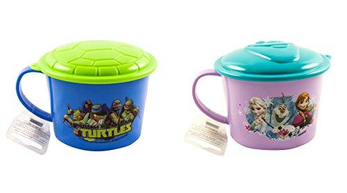 zak. designs 411g (428ml) Tasse Suppe mit Deckel und Griff 2-Pack Random Character