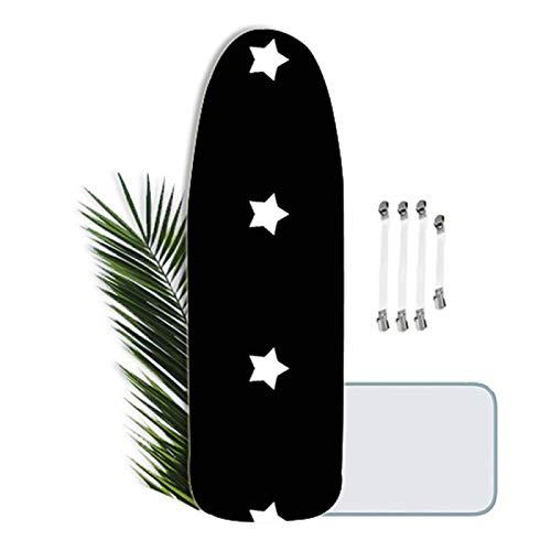 KLKKL Funda de Planchar Ajustable, Funda para Tabla de Planchar Universal XXL para un Planchado Extra Rápido, Idea para Todo Tipo de Tabla Planchar