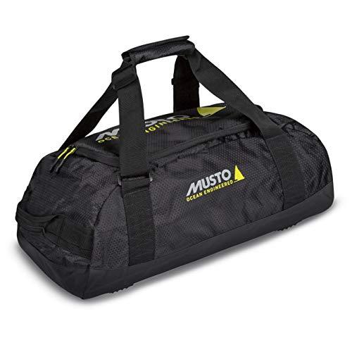 Musto Essential Holdall Tasche oder Gepäck mitführen 45L 45 Liter Inhalt Schwarz AUBL216 - Leichtgewicht