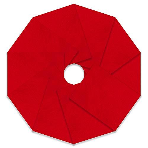 röd filt ikea