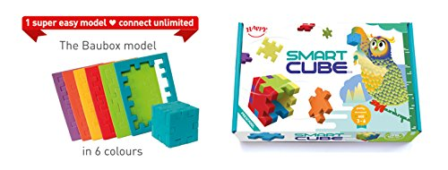 HAPPY Smart Cube Puzzles 6-Pack