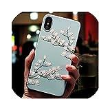 かわいい3D花電話ケースiphone X 8 7 6 6 sプラス11プロマックスケースカバーiphone 5 5 s SE 6 s XR XSマックス7プラスケースCoque、iPhone 11プロ、06