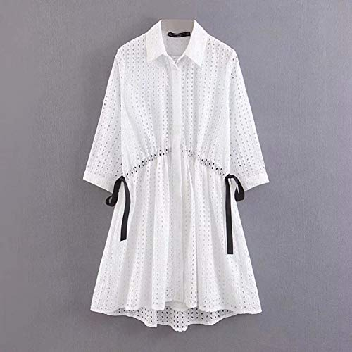 DAIDAILYQ - Golf-Kleider für Damen in white, Größe L