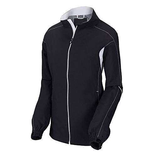 FootJoy Women's HydroLite Golf Rain Jacket (S, Black)