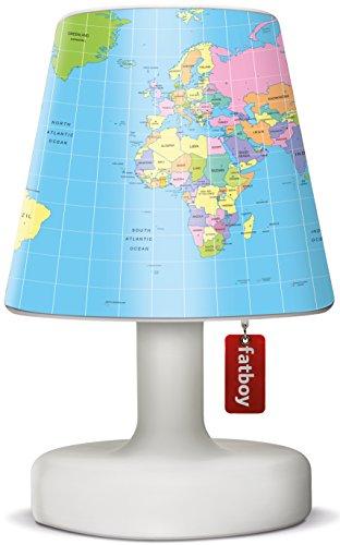 Fatboy® Edison the Petit + Cooper Cappie globetrotter | Tischlampe / Outdoor Lampe / Nachttischlampe | Kabellos & per USB Aufladbar