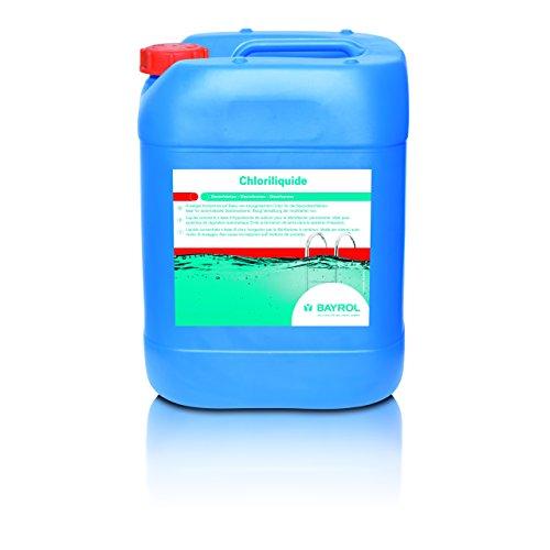 Bayrol Chloriliquide 1134130 Liquide pour la désinfection permanente 20 l Désinfectant pour piscine