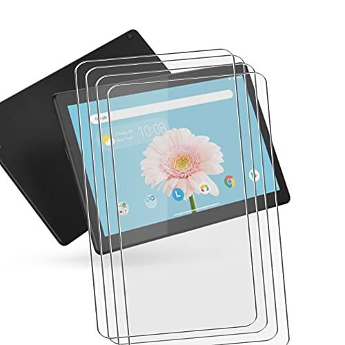 JIENI Protector Pantalla para Samsung Galaxy Tab A7 Lite SM-T225 (8.0'),[4 Pack] Dual Protector de Pantalla en Cristal Templado para Samsung Galaxy Tab A7 Lite SM-T225 - Dureza 9H - Alta Definicion