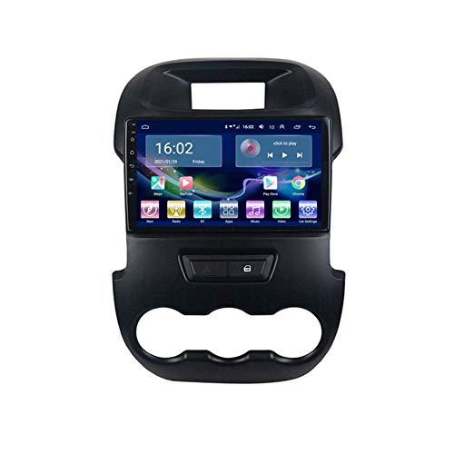 Android 10.0 Radio GPS Navegación para FO RD Ranger 2011-2014, Coche Estéreo Sat Nav Soporte DSP GPS 4G WiFi AMP USB Bluetooth 5.0 Carplay