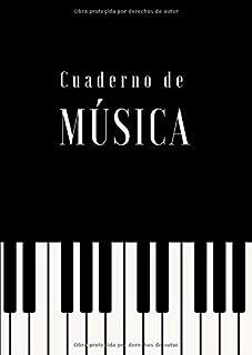 Cuaderno de Música: Cuaderno Pentagramado con 12 Pentagramas por Página | Tamaño A4 (Spanish Edition)