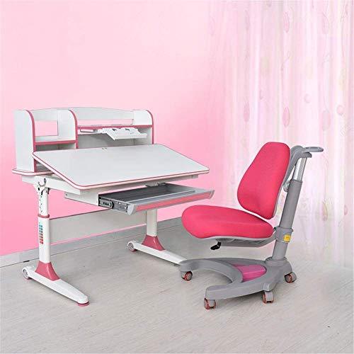 Escritorio para niños y silla de silla Conjunto Sistema de silla de escritorio Multifuncional escritorio y silla Set Childen Kids Study School School Estudiante Escritorio Estudio Restaurante para niñ