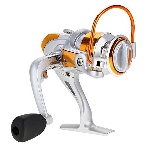 V GEBY Moulinet de pêche, Roue de poignée de Moulinet de pêche en métal Ultra Lisse 12BB pour Accessoires de pêche(#1)