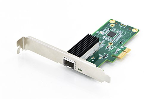 DIGITUS Interface Karte, PCIe, Netzwerkkarte, Gigabit Ethernet SFP Port, IEEE 802.3X Flow Control und IEEE 802.1Q VLAN, Multimode & Singlemode