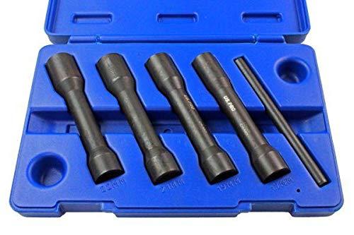 US Pro Tools 3412 Schlagschrauber-Set für beschädigte Muttern und Bolzen, 12,7 mm, 5 Stück