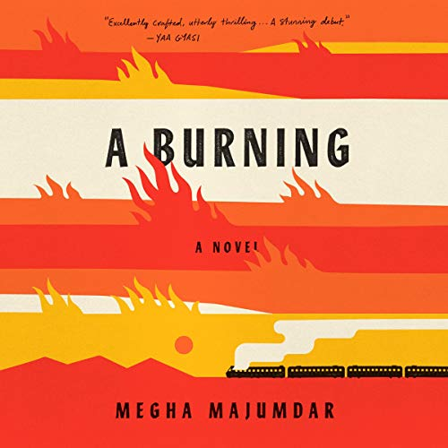 A Burning audiobook cover art