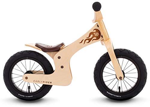 Early Rider Ltd Lite Bicicleta de Equilibrio, Aluminio Cepillado, 12 Wheel