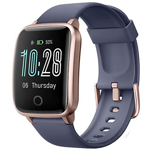 Willful Smartwatch Orologio Fitness Uomo Donna Fitness Tracker Contapassi Calorie Cardiofrequenzimetro da polso Impermeabile IP68 Smart Watch con Cronometro ECG Notifiche Messaggi per Android iOS