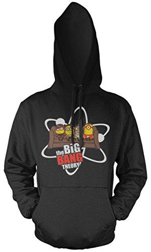Big Bang Minions Sofa Männer und Herren Kapuzenpullover | Banana Minion Fun (XL)