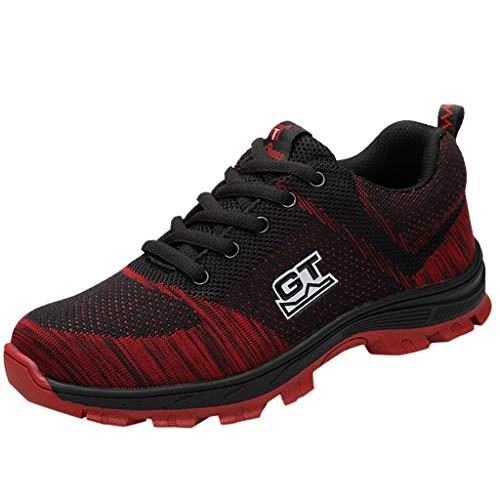 Veiligheidsschoenen dames heren sneaker loopschoenen Air sportschoenen mesh gymschoenen Running Fitness Sneaker Outdoor Sports voor zomer 36-46 EU By Vovotrade