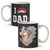 LolaPix Taza Personalizada con Foto. Regalo Personalizado. Día del Padre. Varios diseños. Happy Dad