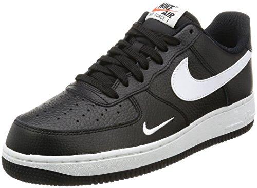 Nike Air Force 1, Scarpe da Ginnastica Uomo, Nero (Black/White/White), 43 EU