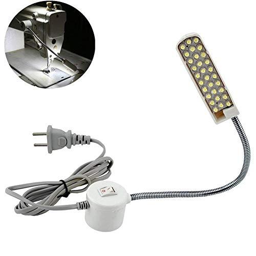 Ccsfrgtrh - Lámpara luz LED máquina Coser, Interruptor