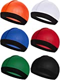 6 Pieces Elastic Band Silky Wave Caps for Men Silk Material for 360 540 and 720 Waves (Color 4)