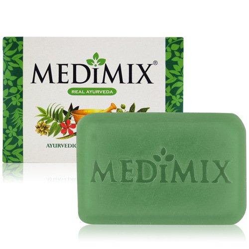 Medimix–Jabón (ingredientes ayurveda 125gr en los 18plantas, para el acné tratamiento, los olores corporelles y los infections de la piel