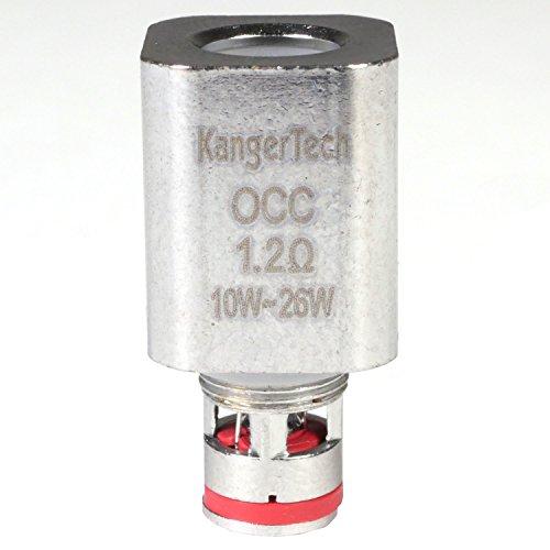 KangerTech OCC Verdampferkopf für Subtank / TopTank, 5 Stück, 0,5 Sub-Ohm