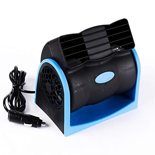 Abanicos de mano Ventilador portátil de 12 V for refrigerador de aire for automóvil Ventilador automotriz Refrigerador de bajo ruido for ventilador de turbina Radiador ventilador de batería portátil