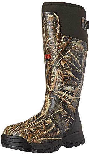 "LaCrosse Men's 376021 Alphaburly Pro 18"" 800G Waterproof Hunting Boot, Realtree Max-5 - 11 M"
