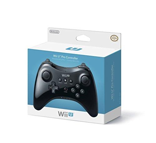 Nintendo Wii U Pro Controller - Black (Renewed)