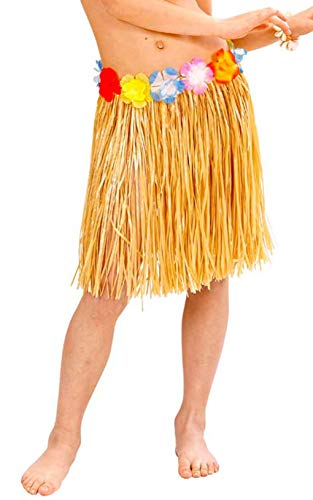 40 cm - falda - falda - hawaii - hawaiana - moana - vaiana - oceanía - accesorios - disfraz - carnaval - halloween - cosplay - mujer - niña