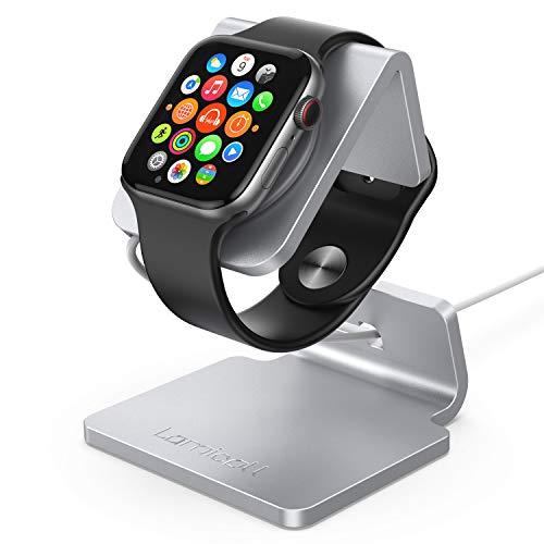 Lamicall Supporto per Apple Watch, Stazioni di Ricarica : Supporto Dock per Apple Watch Series 4/3 / 2/1 - Argento