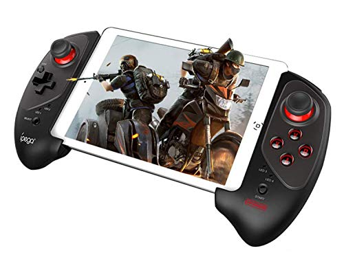 ipega-PG-9083S Wireless 4.0 Smart PUBG Mobile Game Controller for Android/iOS Mobile Phone Tablet (Android 6.0 and Higher Systems, ios11.0-13.3 Systems, not Compatible with 13.4 and Higher Systems)