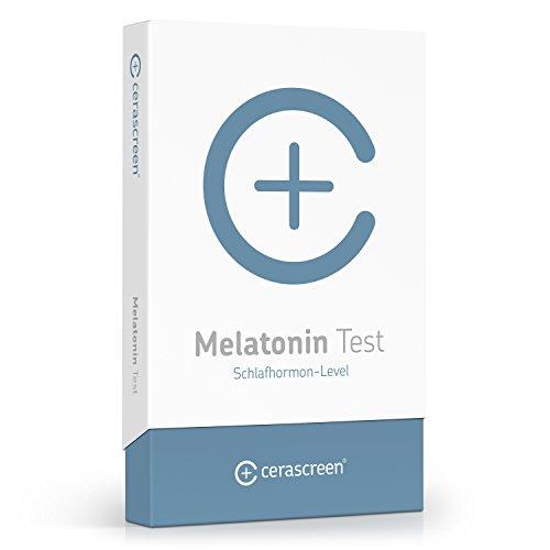 cerascreen® Melatonin Test Kit – Melatoninspiegel per Speicheltest von Zuhause messen | Besser schlafen mit optimalen Schlafhormon-Wert | Zertifiziertes Labor