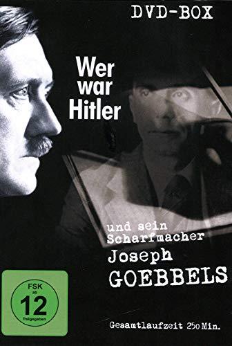Wer war Hitler & sein Scharfmacher Joseph Goebbels [2 DVDs]