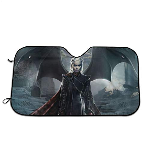 Game of Thrones Car Windshield Shade Foldable Car Cover Protect Your Vehicle from UV Sun and Heat