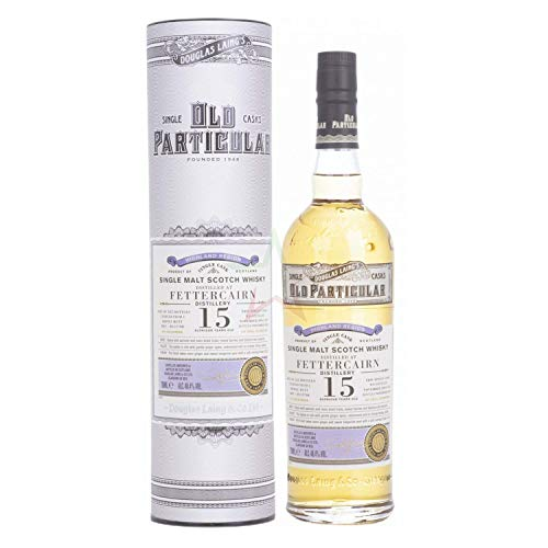 Douglas Laing & Co. OLD PARTICULAR Fettercairn 15 Years Old Single Cask Malt 2004 48,4% Volume 0,7l in Geschenkbox Whisky