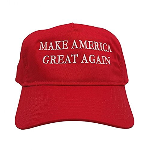 Krause & Sohn Donald Trump Basecap Rojo Hacer Amrica Grande Otra Vez Sombrero Presidente de Estados Unidos Cap