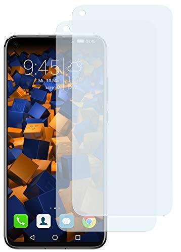 mumbi Schutzfolie kompatibel mit Huawei Honor View 20 Folie klar, Bildschirmschutzfolie (2X)