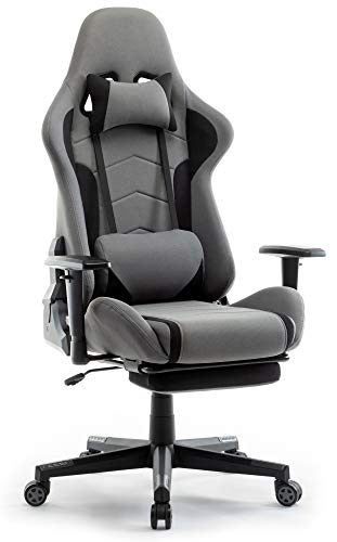 IntimaTe WM Heart Gaming Stuhl, Racing Gamer Stuhl Bürostuhl Stoff,...
