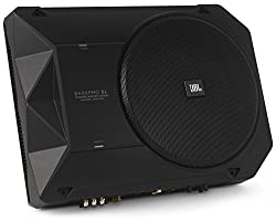 JBL BassPro SL 8-inch 125W RMS Powered Under-Seat Compact Subwoofer Enclosure System (Black),JBL,K951094,JBL BassPro speaker,JBL speaker,speaker JBL K951094