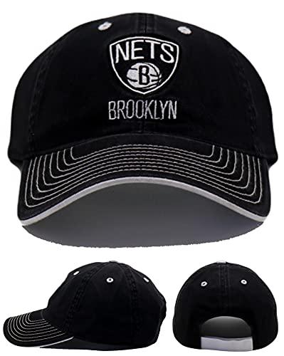 adidas Brooklyn Nets Cap verstellbar Slouch Hat