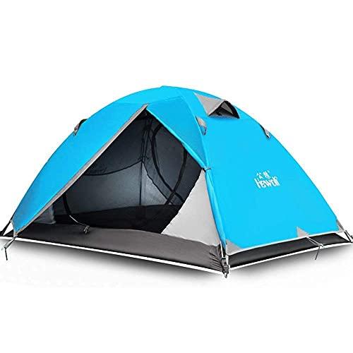 Équipement de camping Tente de camping Double sac à dos pour la randonnée Voyage Plage extérieure pour la pêche à dos (Couleur: Rouge Taille: Taille unique) TINGG (Couleur: Jaune Taille: Taille uni