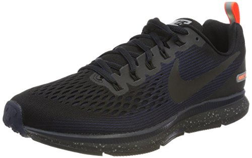 Nike Men's Air Zoom Pegasus 34 Shield Running Shoe Black/Black-Black-Obsidian 10.5