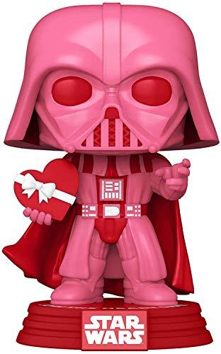 Funko- Pop Star Wars: Valentines-Vader w/Heart Figurine de Collection, 52872, Multicolour