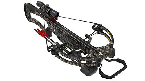 Barnett Whitetail Hunter Pro Crossbow, 380 FPS, Trubark Camo